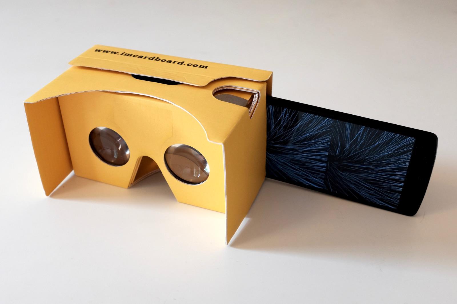 VR Hyperspace Simulator