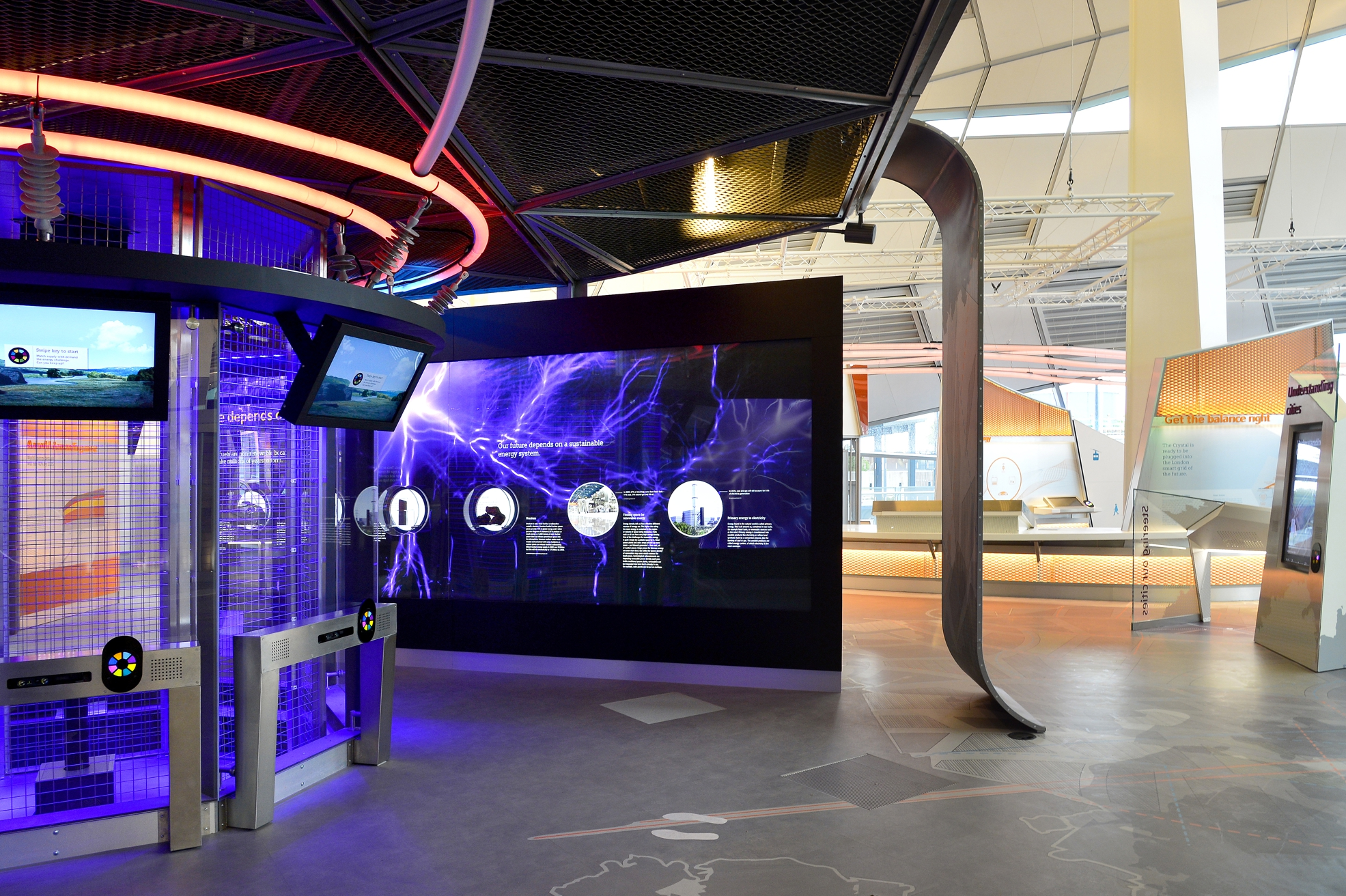 Siemens / The Crystal Interactive Exhibits